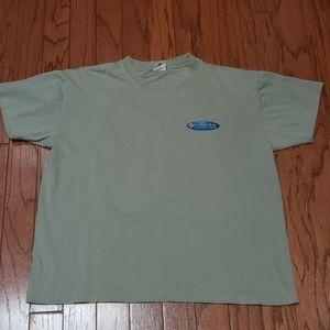 Columbia Sportswear sage green t-shirt EUC